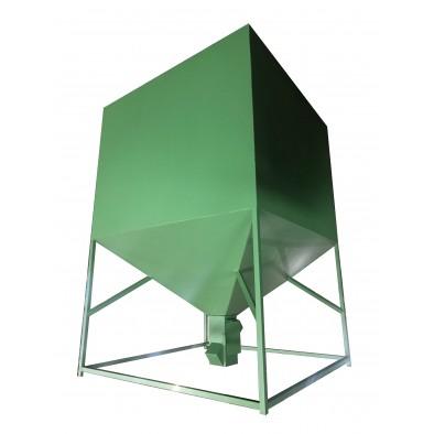 ФотоПеллетный бункер 1700 литров